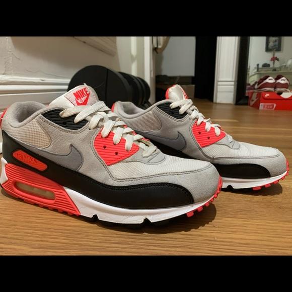 Nike Shoes Air Max 90 Og Infrared Poshmark